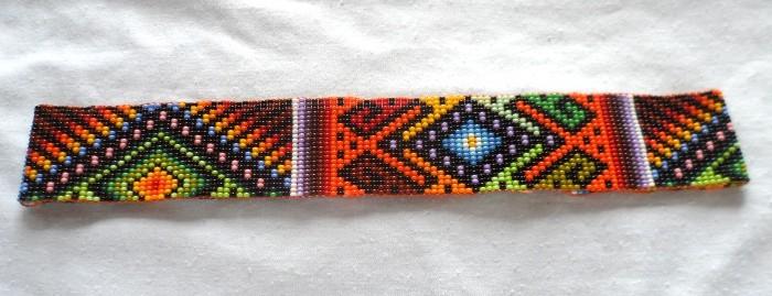 Handmade Colombian Bead Headband