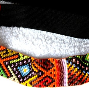 Handmade Colombian Bead Headband