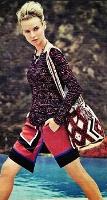 Diane Kruger with Wayuu mochila bag