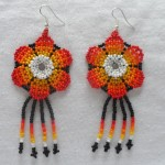 Handmade Colombian Bead Earrings