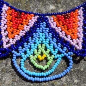 Handmade Colombian Bead Necklace